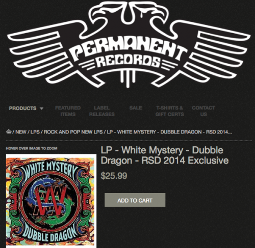 white mystery permanent records