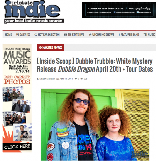 white mystery tri state indie