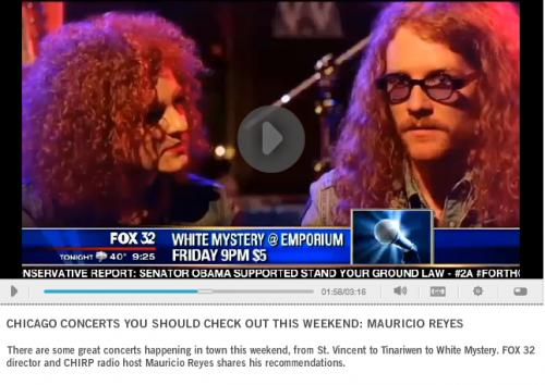 white mystery fox news