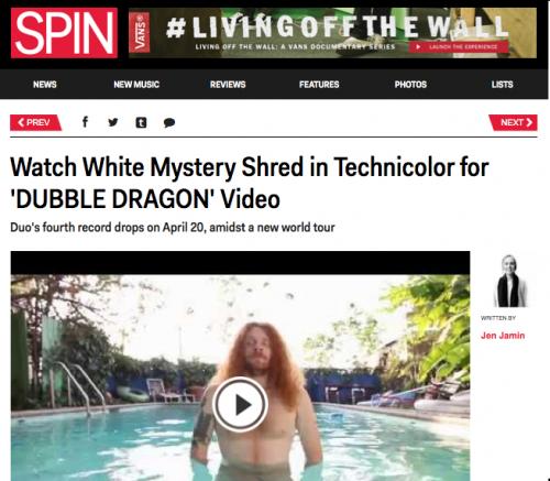 white mystery spin magazine