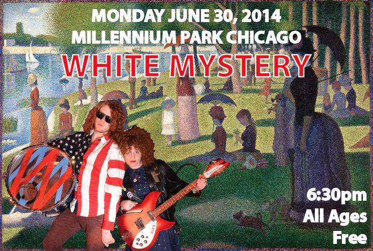 white mystery millennium park