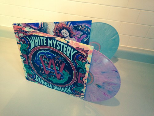 white mystery double album dubble dragon color vinyl