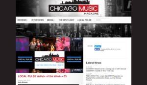 """White Mystery is a LOCAL PULSE Artist of the Week,"""" Chicago Music"""